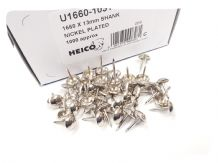 1000 CHROME SILVER UPHOLSTERY NAILS - Furniture studs